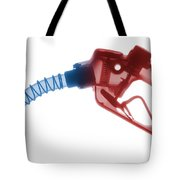 Gas Nozzle X-ray Tote Bag