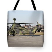 German Tiger Eurocopter At Fritzlar Tote Bag