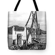 Golden Gate Bridge Work Tote Bag