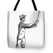 Golf, 1891 Tote Bag