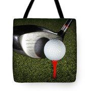 Golf Ball And Club Tote Bag