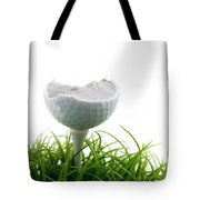Golfball Tote Bag