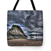 Goscar Rock Tenby Tote Bag