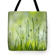Green Grass Tote Bag
