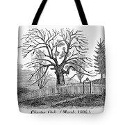 Hartford: Charter Oak Tote Bag
