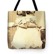 2 Headed Girl Millie-chrissie Tote Bag by Photo Researchers