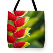 Heliconia Blossom Tote Bag