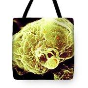 Hiv-1 Infected T4 Lymphocyte Sem Tote Bag
