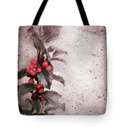 Holly Branch  Tote Bag