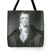 Humphry Davy, English Chemist Tote Bag