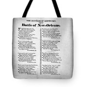 Hunters Of Kentucky, 1815 Tote Bag