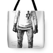 Ice Skater, 1880 Tote Bag