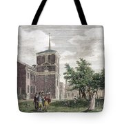 Independence Hall, 1799 Tote Bag