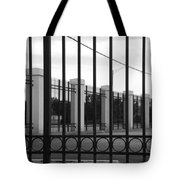 Iron And Pillars Tote Bag