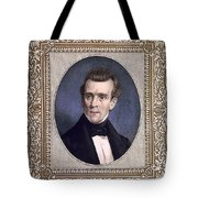 James Polk, 11th American President Tote Bag by Photo Researchers