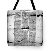 Jefferson: Inauguration Tote Bag