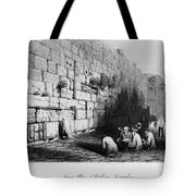 Jerusalem: Wailing Wall Tote Bag