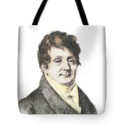 Joseph Fourier, French Mathematician Tote Bag