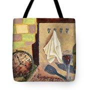 Kitchen Collage Tote Bag by Susan Schmitz