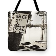 Launch Fee - Sepia Toned Tote Bag