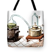 Lavoisiers Apparatus To Study Air Tote Bag