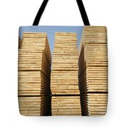 Logged Timber From The Tropical Tote Bag