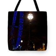 London Eye Night View Tote Bag