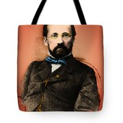 Louis Pasteur, French Chemist Tote Bag by Science Source
