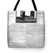 Louis Xvi: Execution, 1793 Tote Bag