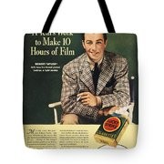Lucky Strike Cigarette Ad Tote Bag