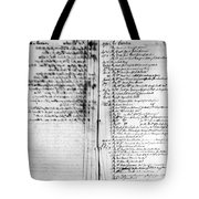 Madison: Account Book Tote Bag