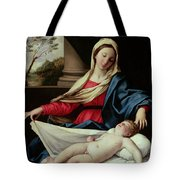 Madonna And Child Tote Bag by Il Sassoferrato