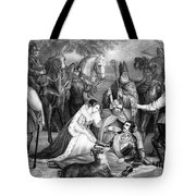Mary Queen Of Scots Tote Bag by Photo Researchers