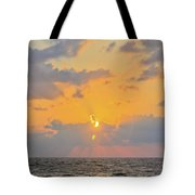 Mediterranean Sunset Tote Bag
