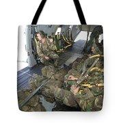 Members Of The Pathfinder Platoon Tote Bag