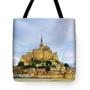 Mont Saint Michel Tote Bag by Elena Elisseeva