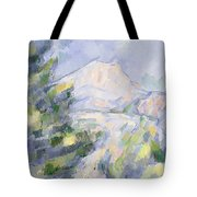 Mont Sainte-victoire Tote Bag by Paul Cezanne