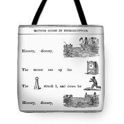Mother Goose, 1849 Tote Bag by Granger