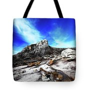 Mount Kinabalu Tote Bag