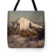 Mount Taranaki Above The Clouds New Tote Bag