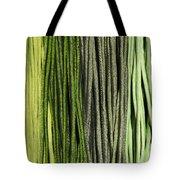 Multi-colored Striped Fabrics Tote Bag