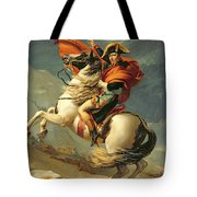 Napoleon Crossing The Alps On 20th May 1800 Tote Bag