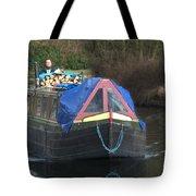 Narrowboat Tote Bag