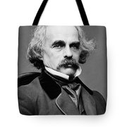 Nathaniel Hawthorne, American Author Tote Bag