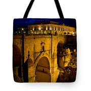 New Bridge In Ronda Tote Bag