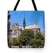 Notre Dame Cathedral Paris France Tote Bag