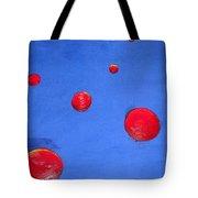 Orbs In Space 1 -- Crossing Paths Tote Bag