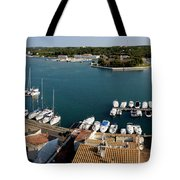 Panoramic Town 1 Tote Bag