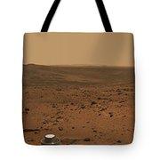 Panoramic View Of Mars Tote Bag