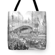 Paris Exposition, 1855 Tote Bag